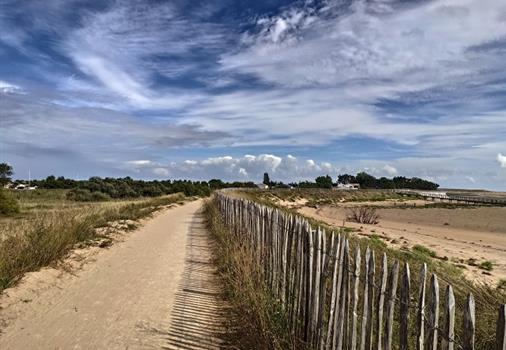 camping the fault on sea direct access beach Vendée seaside close to La Tranche sur mer